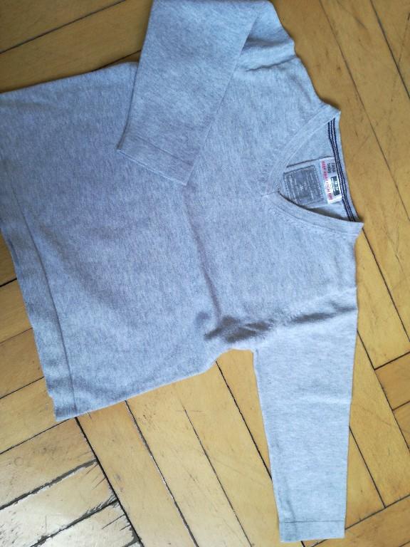 szary elegancki sweterek serek 86 Zara
