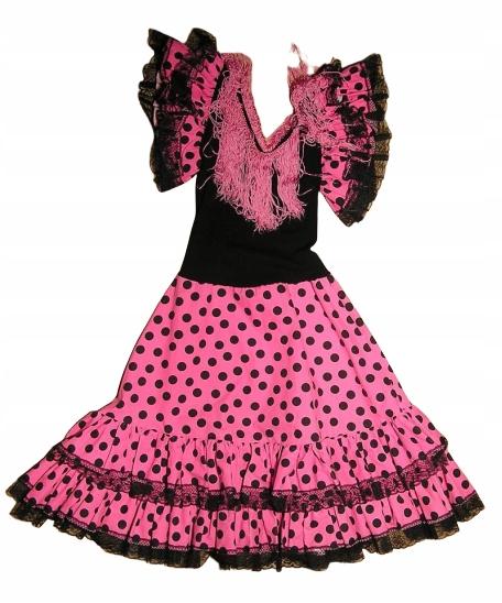 Tancerka Flamenco Hiszpanka biedronka 128