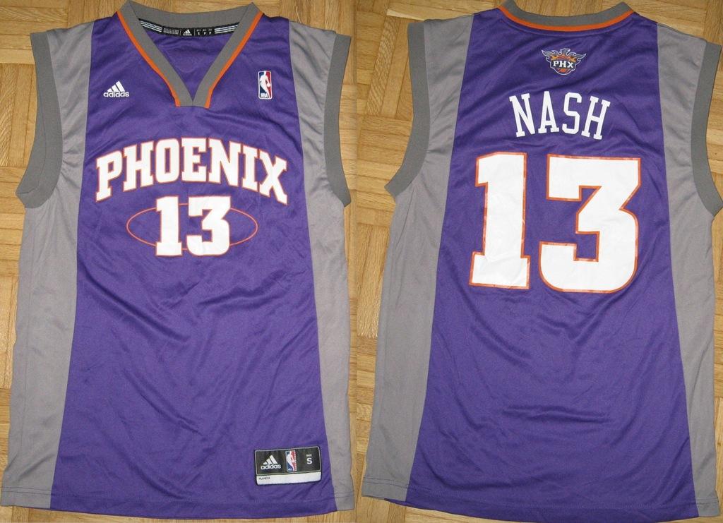 PHOENIX NBA 13 NASH Adidas koszulka S/M