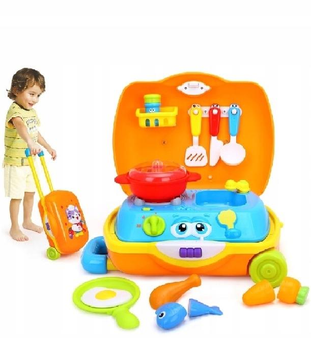 Zabawki Dla Dzieci 2 Lata Kucharz Kuchenka Garnki 7572176209 Oficjalne Archiwum Allegro
