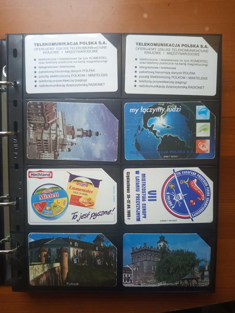 Karty telefoniczne POLSKA x 79 (zestaw nr 1)