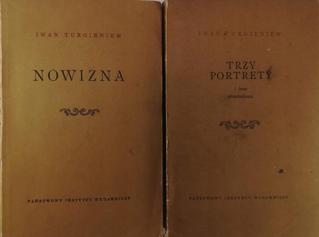 Nowizna Trzy portrety opowiadania Turgieniew