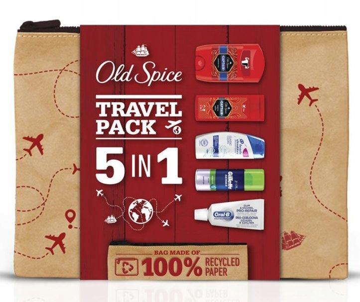 Old Spice Travel Pack 5w1 Zestaw podarunkowy