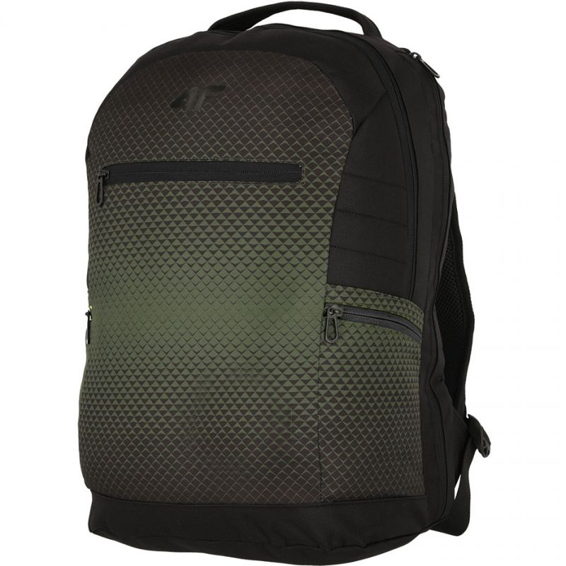 Plecak Uni 4F H4L19-PCU009 20S khaki/głęboka czerń