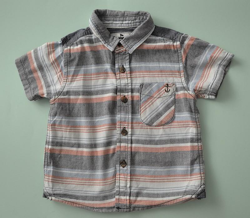 Koszula chłopięca bawełniana TU 18-24m 86/92