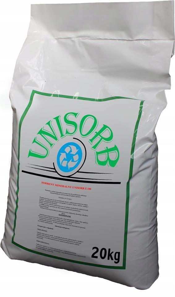 Sorbent 20kg benzyna olej smary farby 40 litrów
