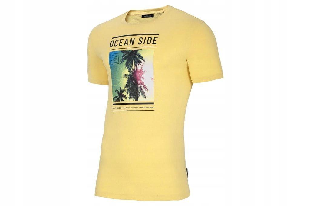 Koszulka Outhorn HOL20 TSM621 Jasny żółty
