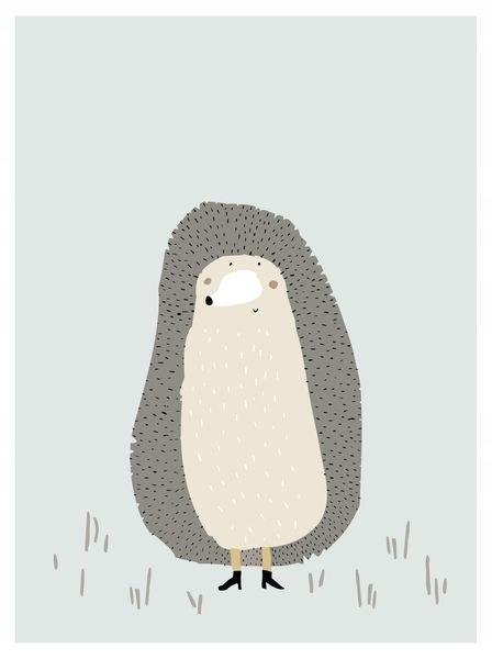 Mrs.Hedgehog- Jeż Plakat