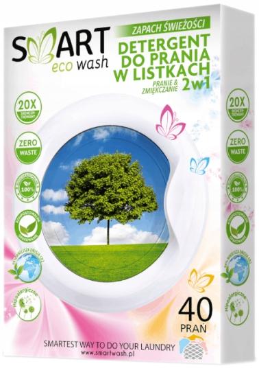 Biodegradow. listki do prania i zmiękczania 40prań