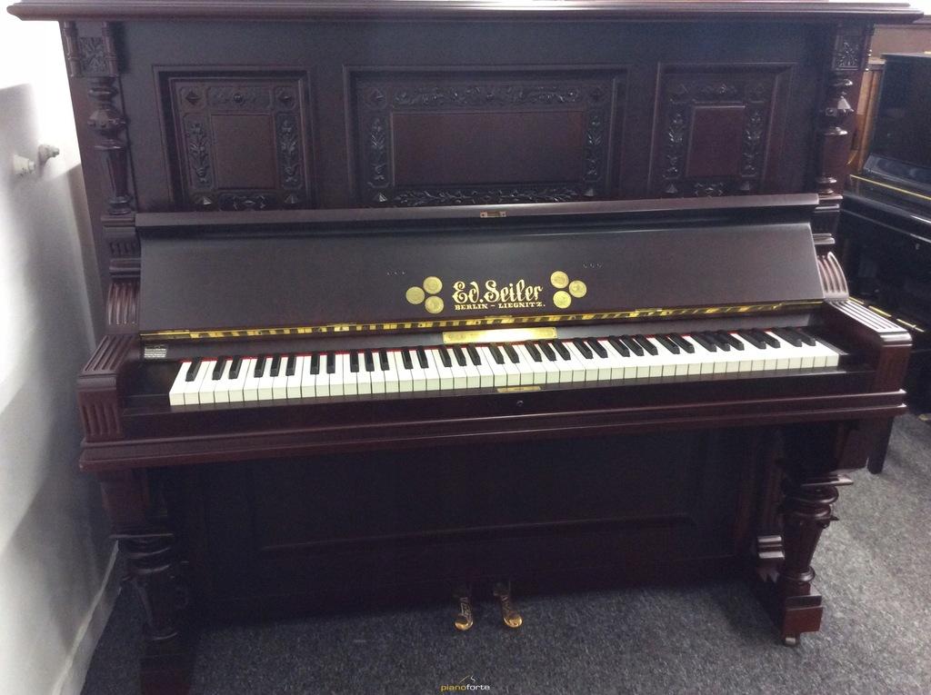 Pianino akustyczne Seiler - wynajem 300,00 zł/mc