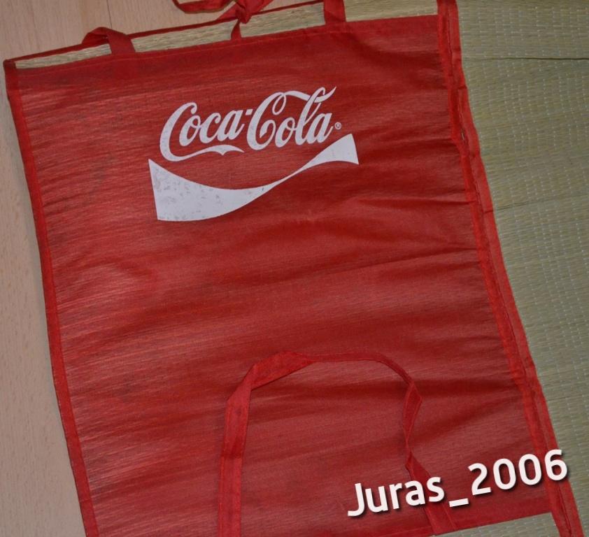 Coca Cola mata słomiana na plażę lekka 180x90 cm