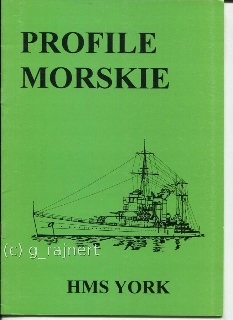 PM Profile morskie Ciężki krążownik HMS York