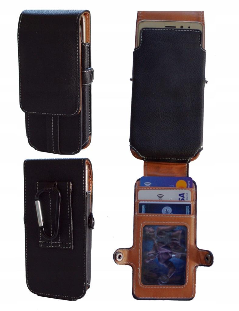 Kabura Pion Karty do Nokia 6 Arte Black