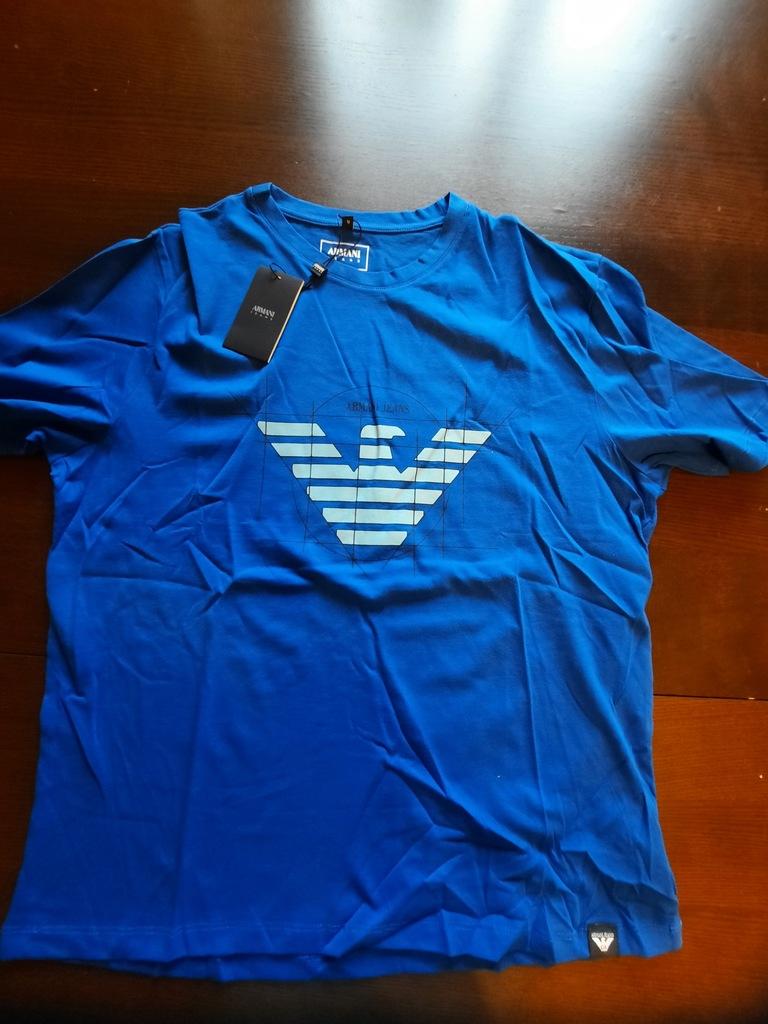 T-shirt, koszulka Armani Jeans