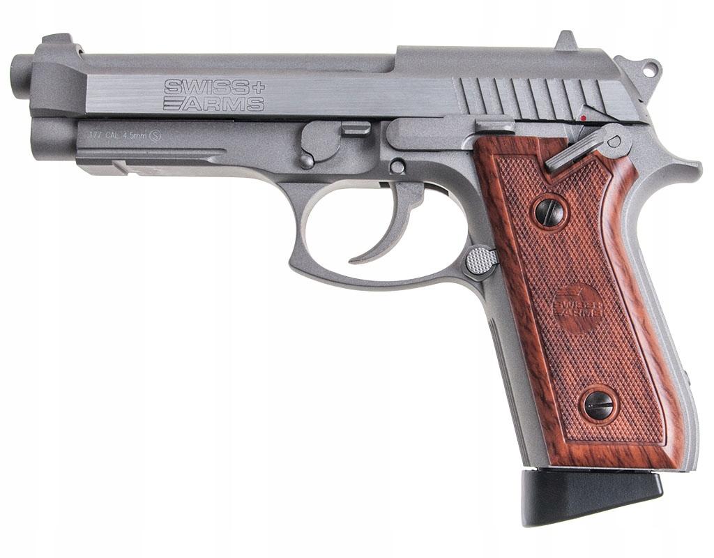 Wiatrówka CyberGun Swiss Arms SA92 Blow Back BAX