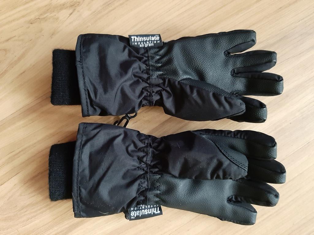 Rękawiczki wodoodporne, narciarskie rozm 110 - 116