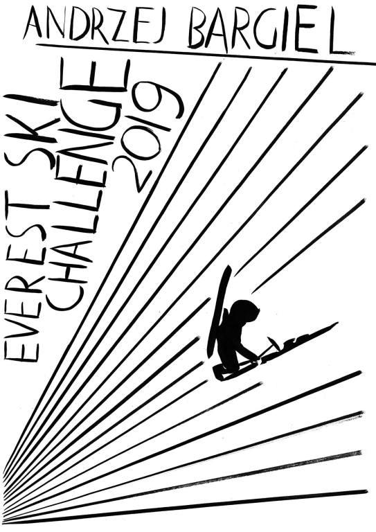 Plakat Wilhelma Sasnala Everest Ski Challenge
