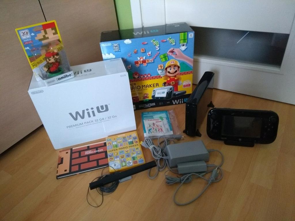 Nintendo Wii U Premium 32gb Super Mario Maker 7697884898 Oficjalne Archiwum Allegro