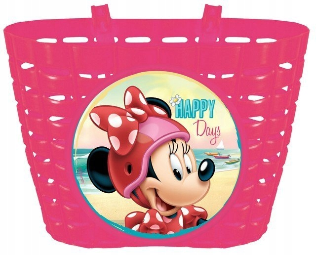 Koszyk Na Rower Myszka Minnie Disney