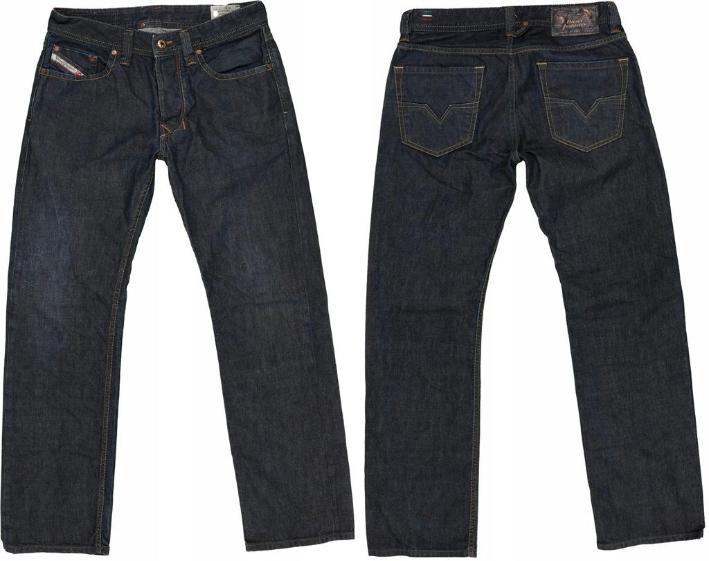 DIESEL LARKEE jeansy męskie REGULAR STRAIGHT 29/30