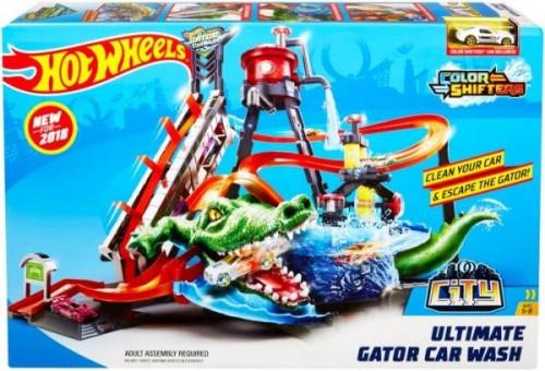 Hot Wheels. FTB67 Mega myjnia. Atak krokodyla