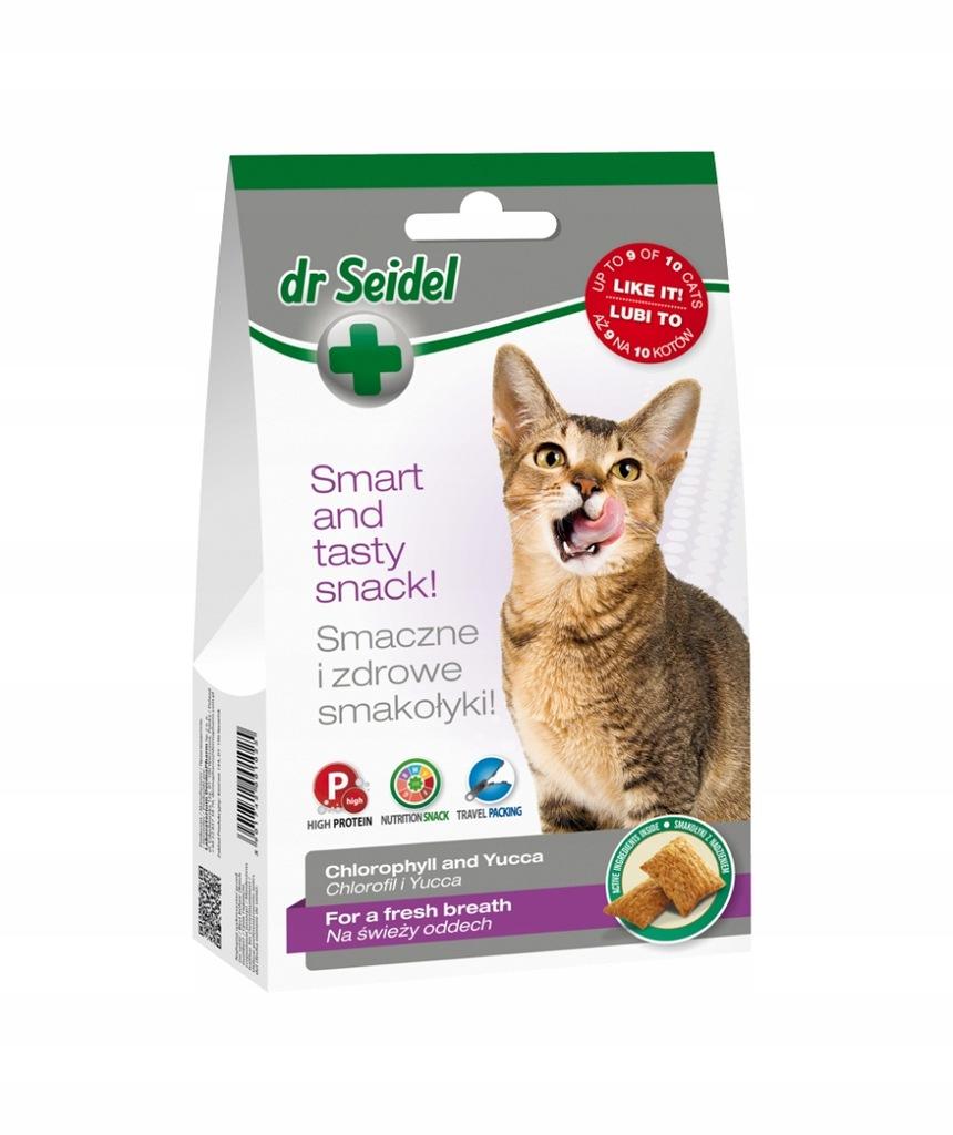 DR SEIDEL SMAKOŁYKI na świeży oddech dla kotów 50