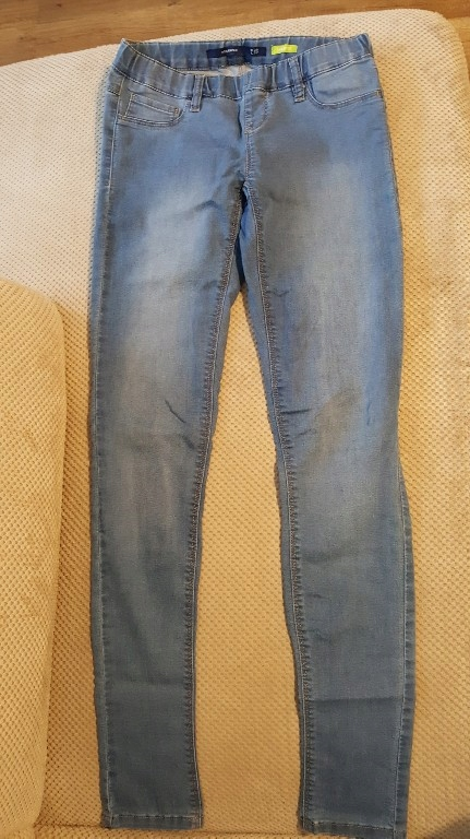 legginsy jeans rozmiar 38 reserved