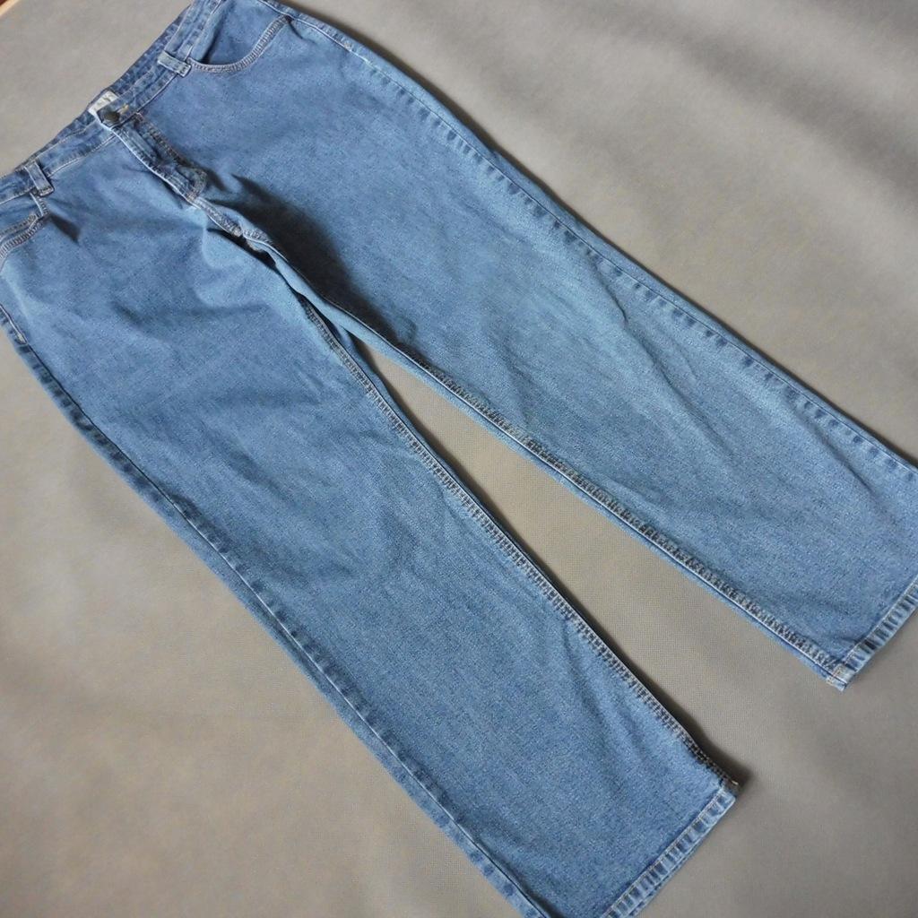 C&A CANDA klasyczne niebieskie dżinsy r. 44 46