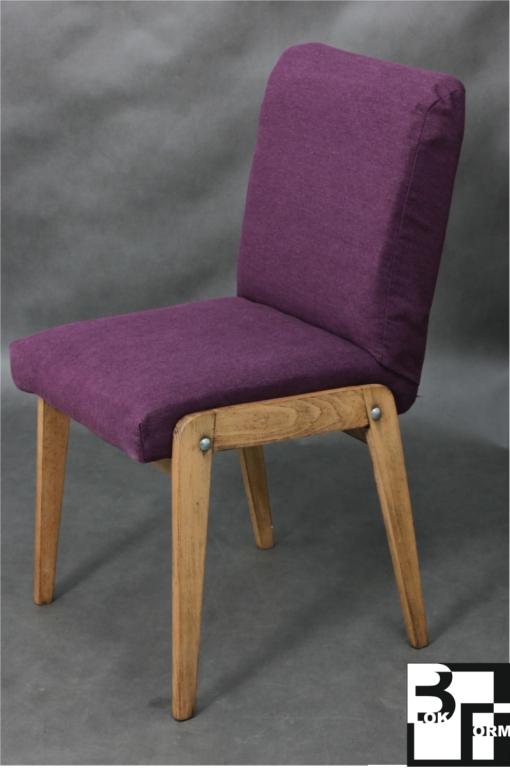 Designerskie krzesło odrestaurowane
