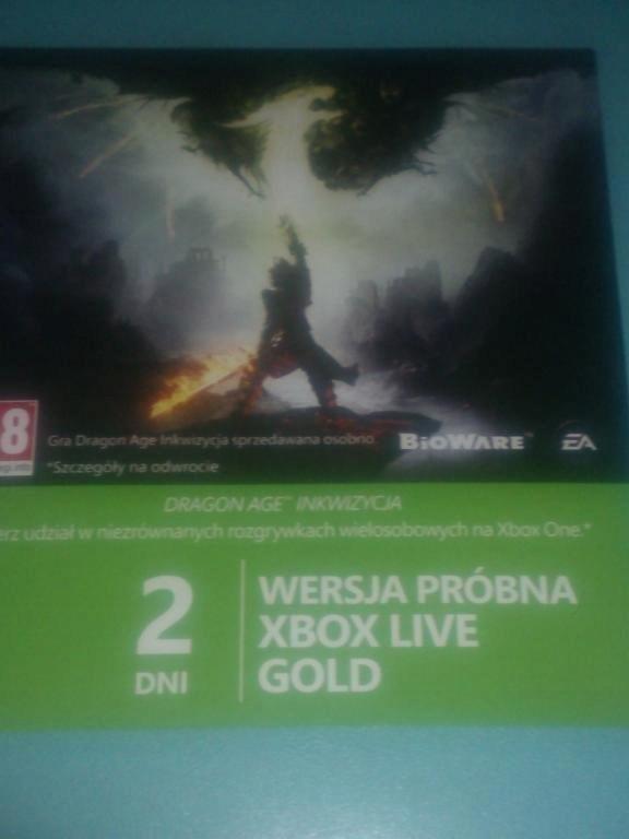 XBOX LIVE GOLD 2 DNI