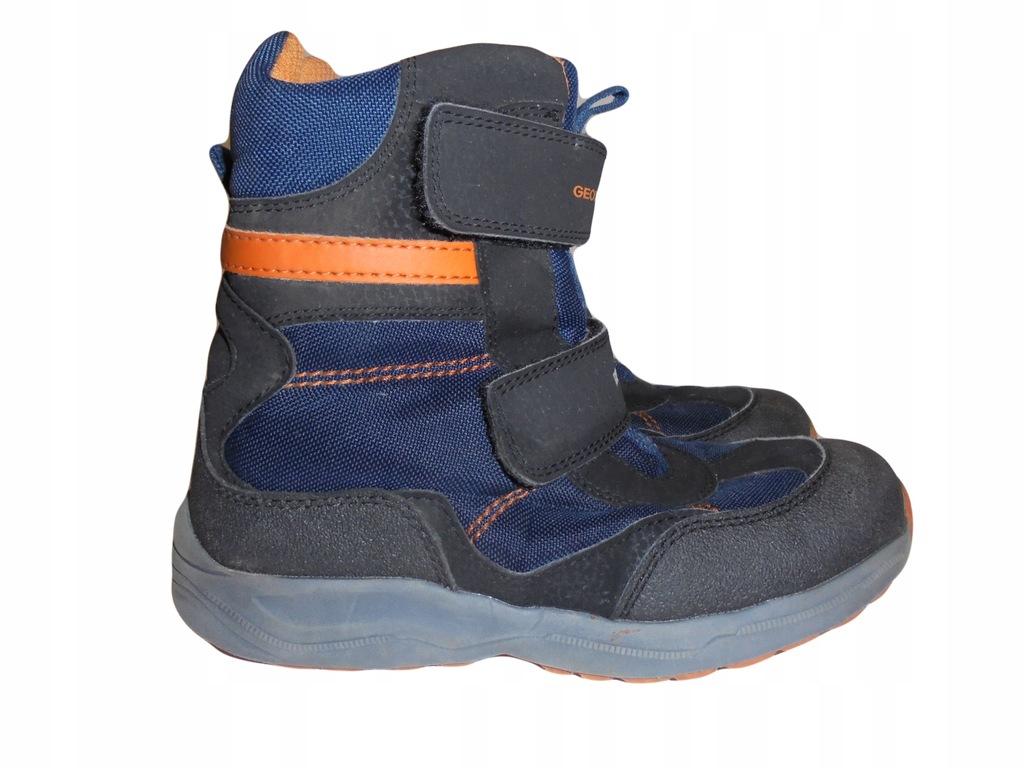 Zimowe buciki firmy Geox Waterproof. Rozmiar 32.