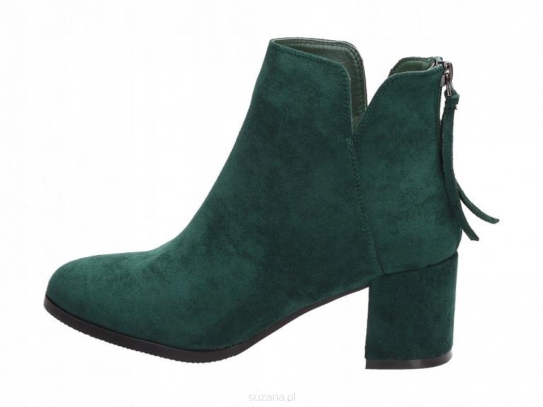 Zielone botki damskie VINCEZA 16092 r36 8492647395