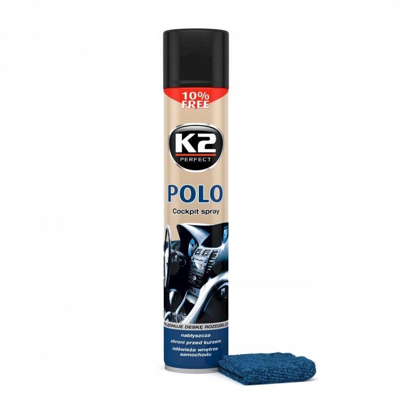 K2 POLO COCKPIT SPRAY DO KOKPITU KAWA 750 ML
