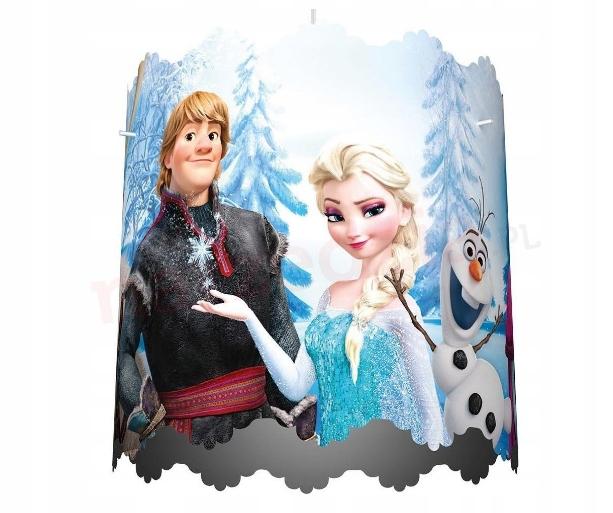 Klosz do Lampy Frozen Kraina Lodu Elsa Philips