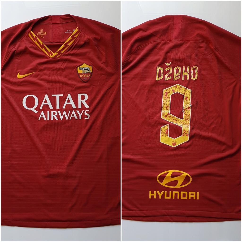 Dzeko, AS Roma - koszulka z autografem (zag)