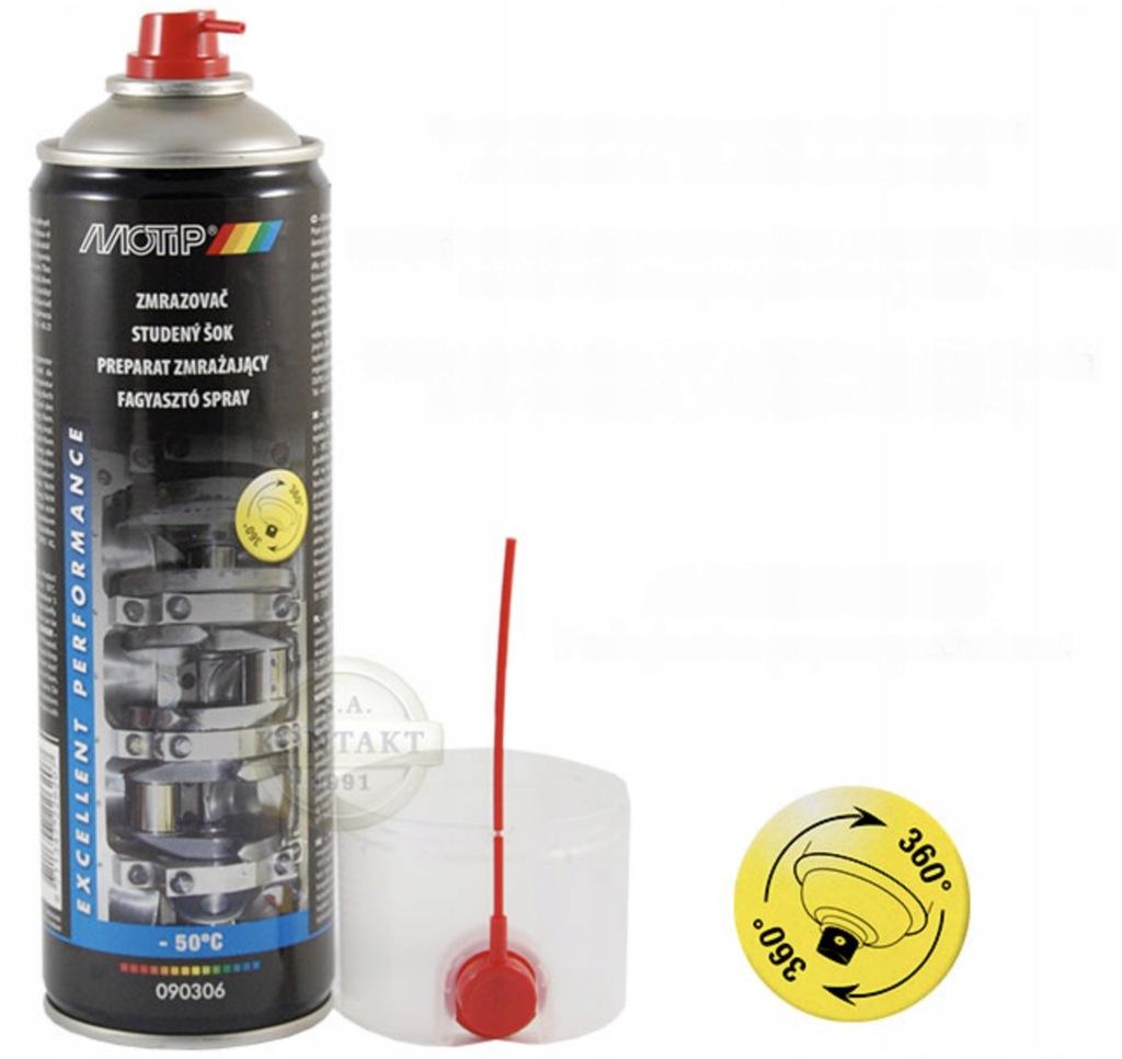 Preparat zmrażacz w sprayu 500ml MOTIP 090306