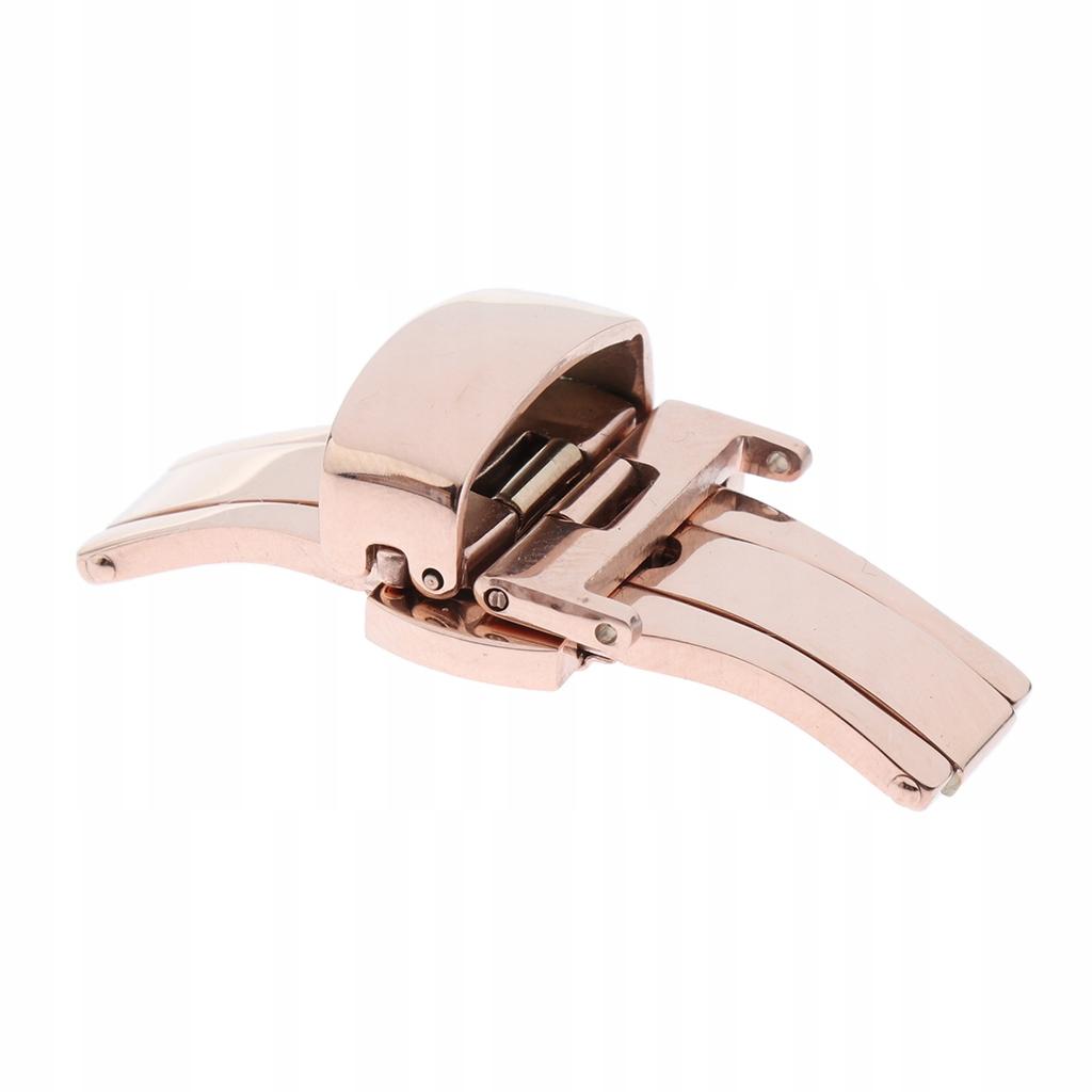 podwójny przycisk składany zegarek klamra