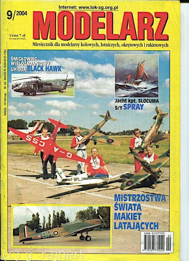 Modelarz 9/2004 Swirepyj, UH-60 Black Hawk, SKP-10