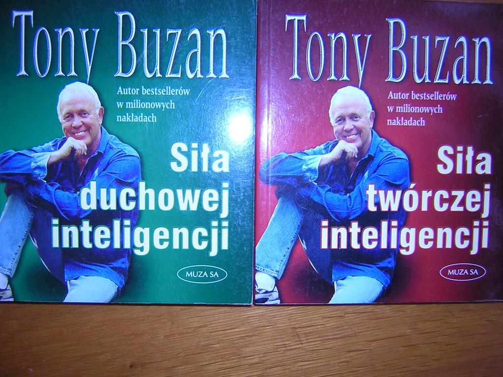 ZESTAW 2 KSIĄŻEK - SIŁA INTELIGENCJI - Tony Buzan