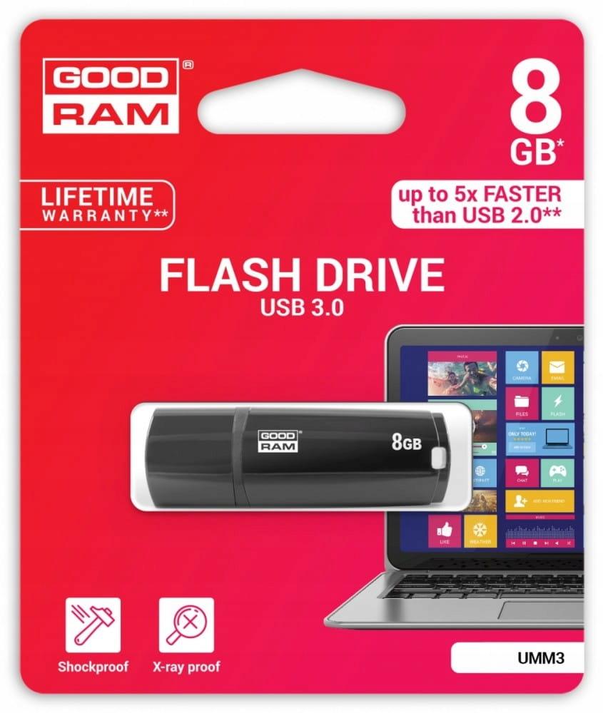 GOODRAM MIMIC 8GB USB3 BLACK