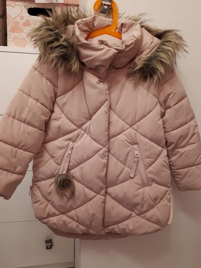 Reserved 116 kurtka zimowa,stan bdb, super modna