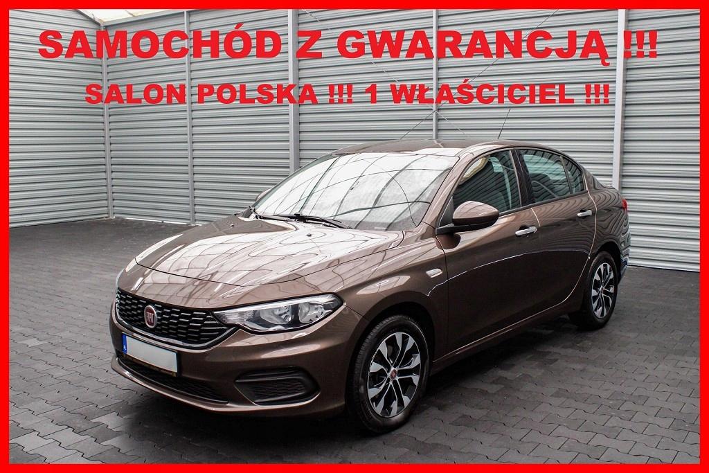 Fiat Tipo Salon PL + 1 Właściciel + 100%