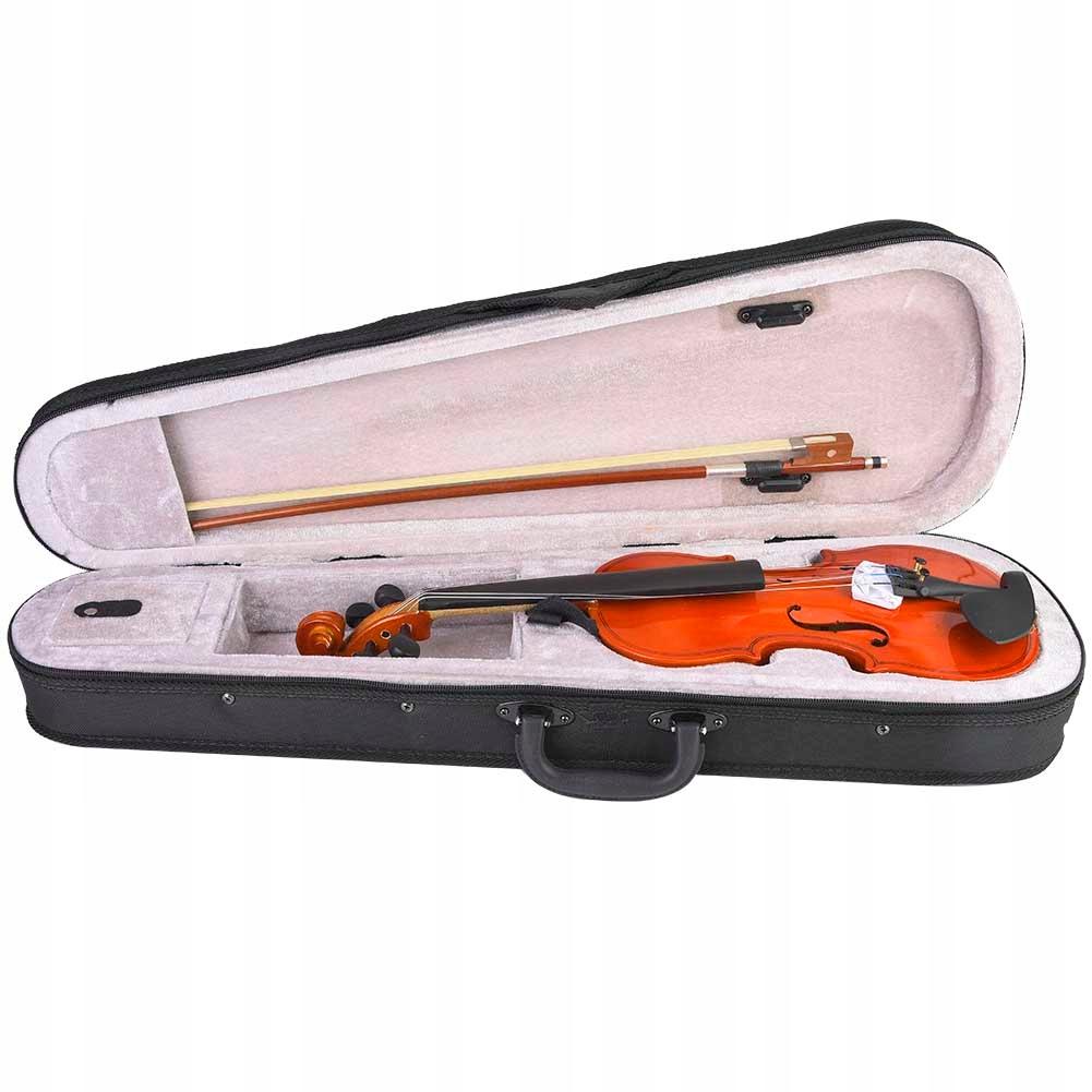 Skrzypce zestaw skrzypiec most klonowy skrzypce