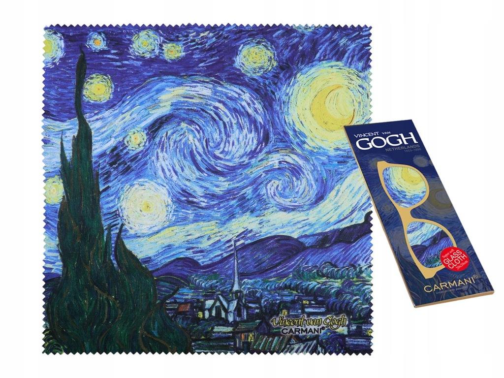 Ściereczka do okularów - V. Van Gogh. Gwiaździsta
