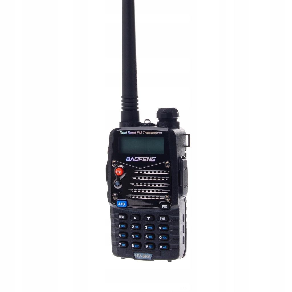 Baofeng UV-5RA dwupasmowy radiotelefon skaner 5W