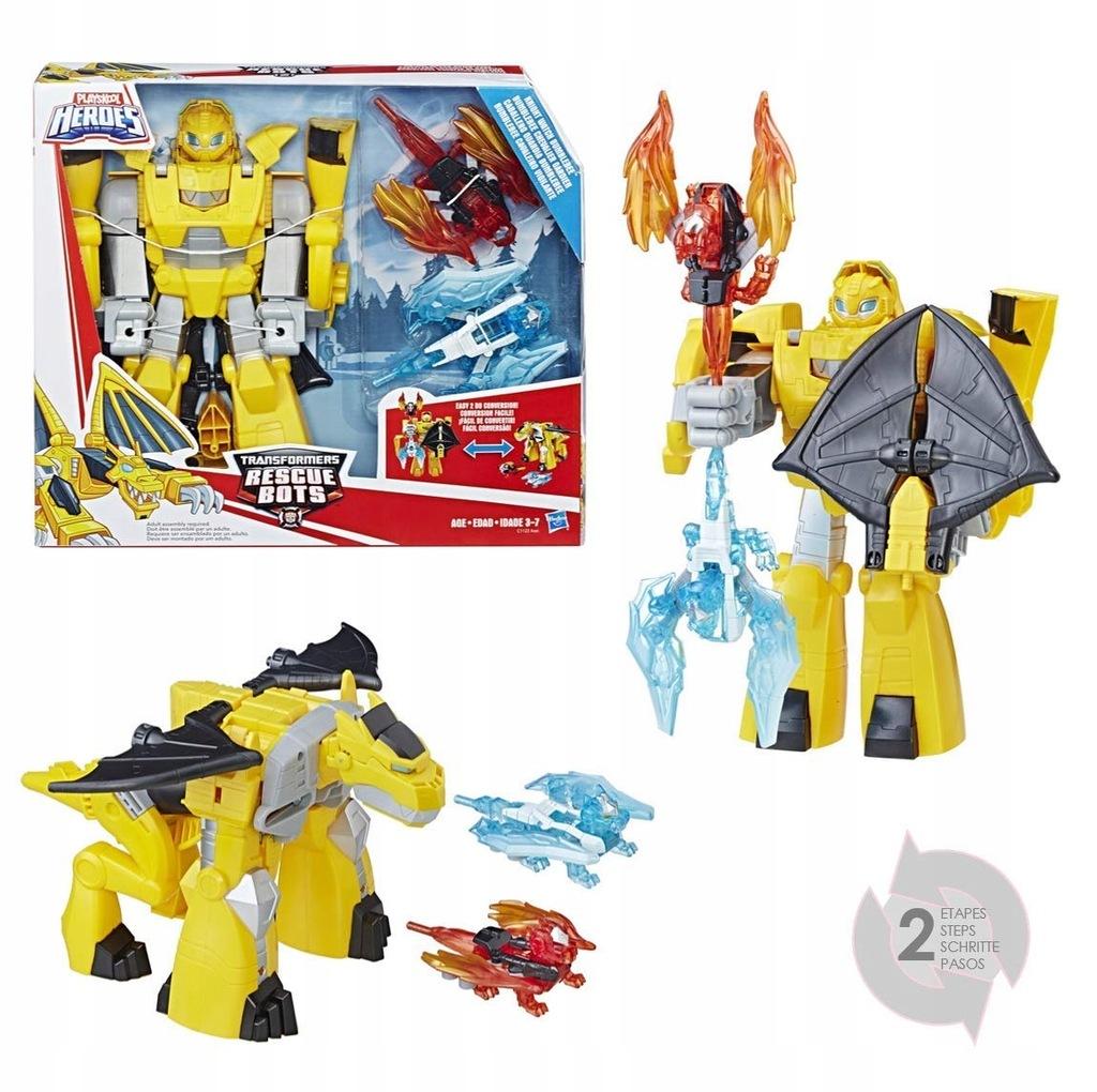 Transformers ZESTAW Figurka 2w1 SMOK Bumblebee