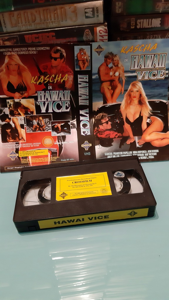 Hawaii vice _ vhs.