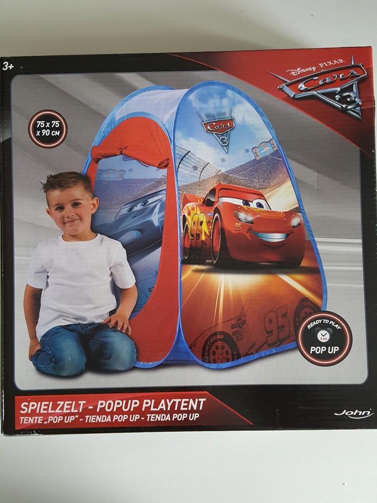 Namiot samorozkładający się Cars Disney + piłka