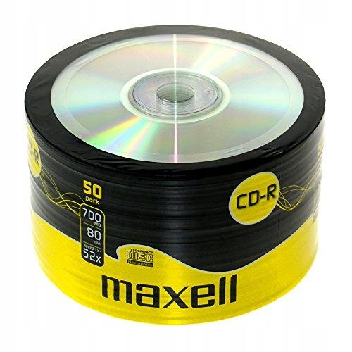 Maxell 624036 CD-R 80 XL 52X, 700 MB, 50 SZTUK