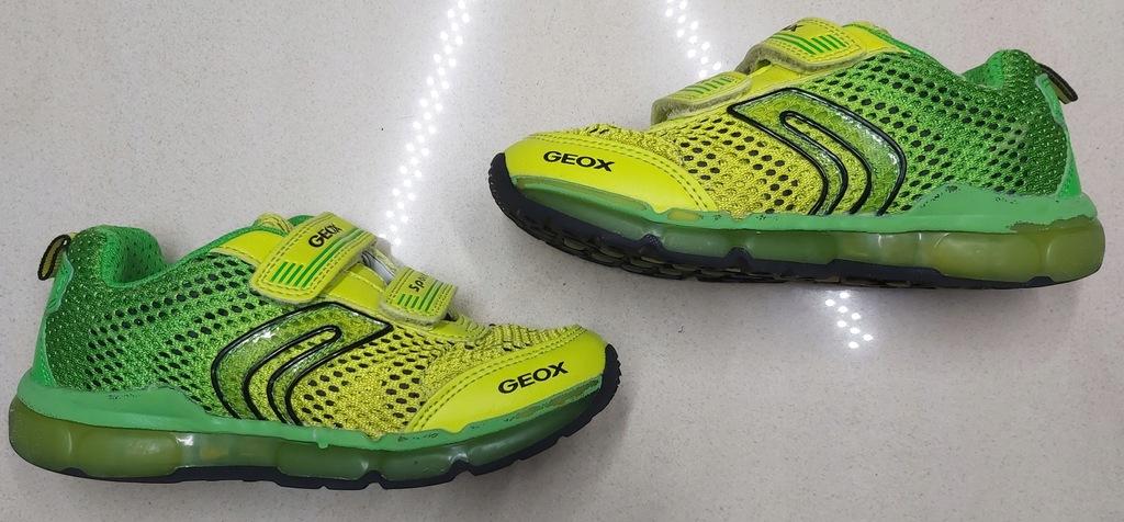 GEOX SPORT RESPIRA sneakersy adidaski światełka 29
